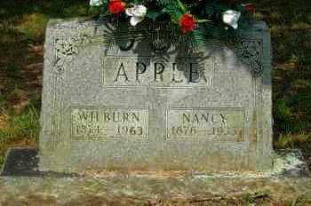 APPLE, NANCY - Yell County, Arkansas | NANCY APPLE - Arkansas Gravestone Photos
