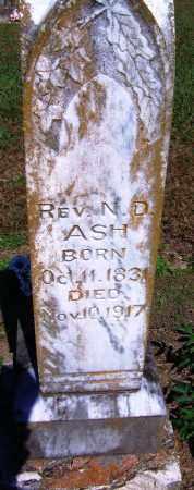 ASH, REV, N D - Yell County, Arkansas   N D ASH, REV - Arkansas Gravestone Photos