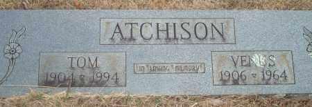 ATCHISON, TOM - Yell County, Arkansas | TOM ATCHISON - Arkansas Gravestone Photos