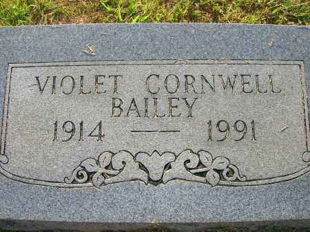 MASTERS BAILEY, VIOLET AYLEEN - Yell County, Arkansas | VIOLET AYLEEN MASTERS BAILEY - Arkansas Gravestone Photos