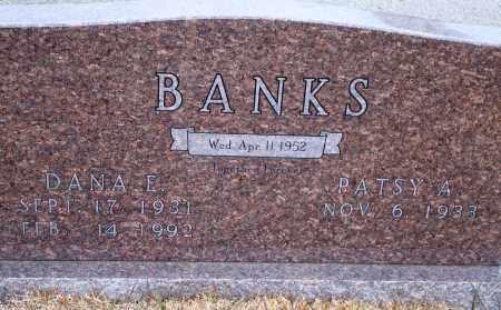 BANKS, DANA E. - Yell County, Arkansas   DANA E. BANKS - Arkansas Gravestone Photos