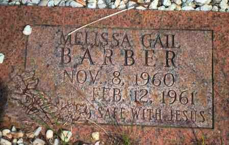 BARBER, MELISSA GAIL - Yell County, Arkansas | MELISSA GAIL BARBER - Arkansas Gravestone Photos