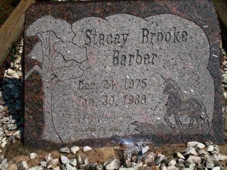 BARBER, STACEY BROOKE - Yell County, Arkansas   STACEY BROOKE BARBER - Arkansas Gravestone Photos