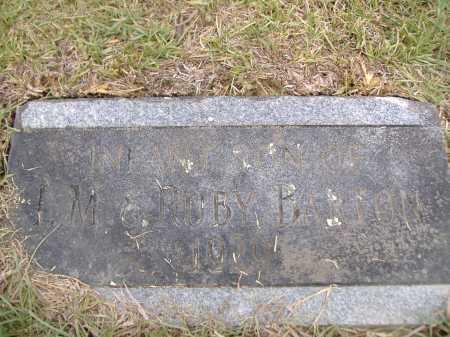 BARTON, INFANT SON - Yell County, Arkansas | INFANT SON BARTON - Arkansas Gravestone Photos