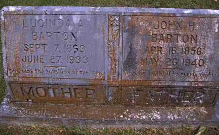 BARTON, JOHN H - Yell County, Arkansas | JOHN H BARTON - Arkansas Gravestone Photos