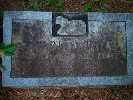 BATES, ALBERT O. - Yell County, Arkansas | ALBERT O. BATES - Arkansas Gravestone Photos
