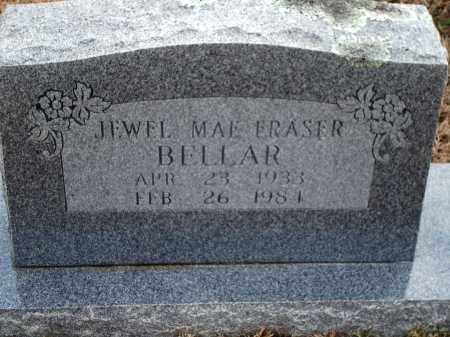 FRASER BELLAR, JEWEL MAE - Yell County, Arkansas | JEWEL MAE FRASER BELLAR - Arkansas Gravestone Photos