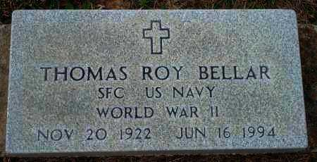 BELLAR (VETERAN WWII), THOMAS ROY - Yell County, Arkansas | THOMAS ROY BELLAR (VETERAN WWII) - Arkansas Gravestone Photos