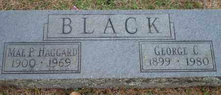 HAGGARD BLACK, MAE P. - Yell County, Arkansas   MAE P. HAGGARD BLACK - Arkansas Gravestone Photos