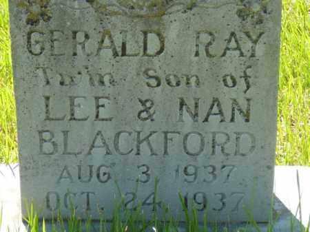 BLACKFORD, GERALD - Yell County, Arkansas | GERALD BLACKFORD - Arkansas Gravestone Photos