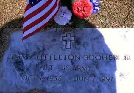 BOOHER, JR (VETERAN), JIMMY LITTLETON - Yell County, Arkansas | JIMMY LITTLETON BOOHER, JR (VETERAN) - Arkansas Gravestone Photos