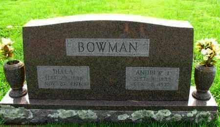 BOWMAN, DELLA - Yell County, Arkansas | DELLA BOWMAN - Arkansas Gravestone Photos