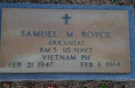 BOYCE (VETERAN VIET, KIA), SAMUEL M - Yell County, Arkansas | SAMUEL M BOYCE (VETERAN VIET, KIA) - Arkansas Gravestone Photos