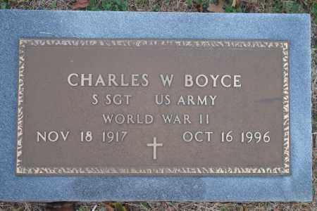 BOYCE (VETERAN WWII), CHARLES W - Yell County, Arkansas | CHARLES W BOYCE (VETERAN WWII) - Arkansas Gravestone Photos