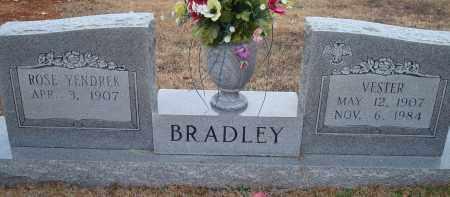 BRADLEY, VESTER - Yell County, Arkansas | VESTER BRADLEY - Arkansas Gravestone Photos