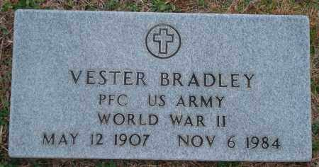 BRADLEY (VETERAN WWII), VESTER - Yell County, Arkansas | VESTER BRADLEY (VETERAN WWII) - Arkansas Gravestone Photos