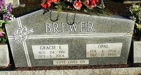 BREWER, GRACIE E - Yell County, Arkansas | GRACIE E BREWER - Arkansas Gravestone Photos