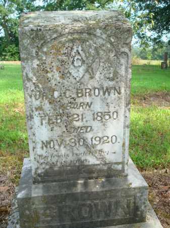 BROWN, C.C. - Yell County, Arkansas   C.C. BROWN - Arkansas Gravestone Photos