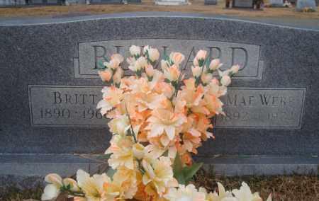BULLARD, BRITT - Yell County, Arkansas   BRITT BULLARD - Arkansas Gravestone Photos