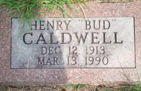 "CALDWELL, HENRY ""BUD"" - Yell County, Arkansas | HENRY ""BUD"" CALDWELL - Arkansas Gravestone Photos"