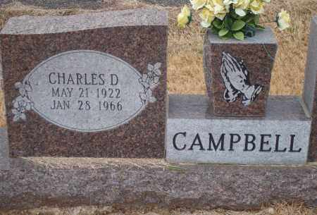 CAMPBELL, CHARLES DALE - Yell County, Arkansas | CHARLES DALE CAMPBELL - Arkansas Gravestone Photos