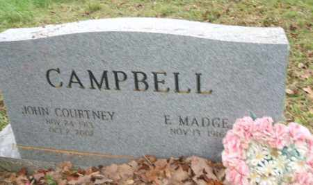 CAMPBELL, JOHN COURTNEY - Yell County, Arkansas | JOHN COURTNEY CAMPBELL - Arkansas Gravestone Photos