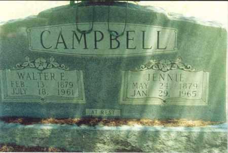 CAMPBELL, WALTER E. - Yell County, Arkansas | WALTER E. CAMPBELL - Arkansas Gravestone Photos