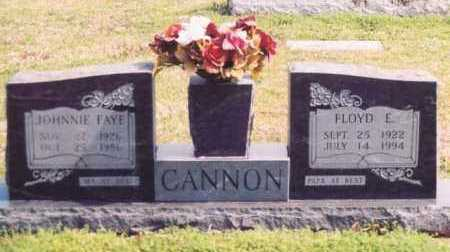 CANNON, FLOYD E - Yell County, Arkansas | FLOYD E CANNON - Arkansas Gravestone Photos