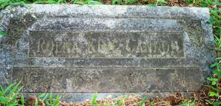 KING CANNON, ROENA - Yell County, Arkansas | ROENA KING CANNON - Arkansas Gravestone Photos