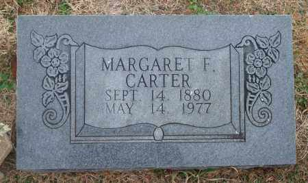CARTER, MARGARET F. - Yell County, Arkansas | MARGARET F. CARTER - Arkansas Gravestone Photos