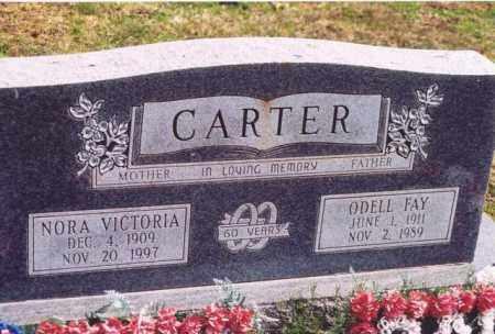CARTER, NORA VICTORIA - Yell County, Arkansas   NORA VICTORIA CARTER - Arkansas Gravestone Photos