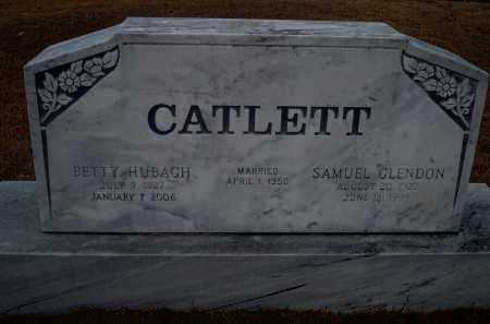 CATLETT, BETTY - Yell County, Arkansas | BETTY CATLETT - Arkansas Gravestone Photos