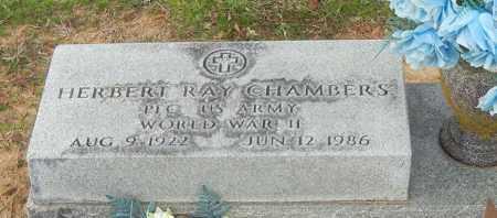 CHAMBERS (VETERAN WWII), HERBERT RAY - Yell County, Arkansas | HERBERT RAY CHAMBERS (VETERAN WWII) - Arkansas Gravestone Photos