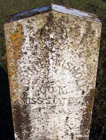 CHISHOLM (VETERAN CSA), JOHN - Yell County, Arkansas | JOHN CHISHOLM (VETERAN CSA) - Arkansas Gravestone Photos