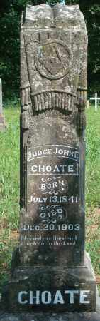 CHOATE, JOHN F - Yell County, Arkansas | JOHN F CHOATE - Arkansas Gravestone Photos