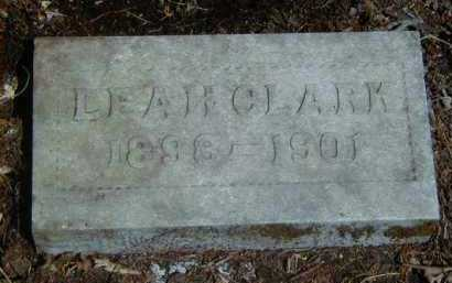CLARK, LEAH - Yell County, Arkansas | LEAH CLARK - Arkansas Gravestone Photos
