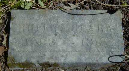 CLARK, RUBERT - Yell County, Arkansas | RUBERT CLARK - Arkansas Gravestone Photos