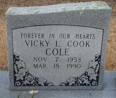 COOK COLE, VICKY L. - Yell County, Arkansas | VICKY L. COOK COLE - Arkansas Gravestone Photos