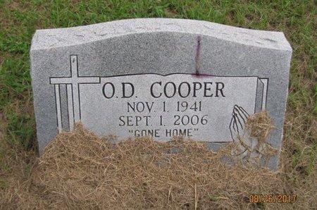 COOPER, O D - Yell County, Arkansas | O D COOPER - Arkansas Gravestone Photos