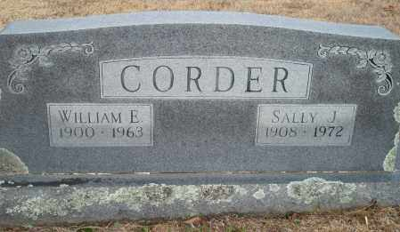 CORDER, SALLY J. - Yell County, Arkansas | SALLY J. CORDER - Arkansas Gravestone Photos