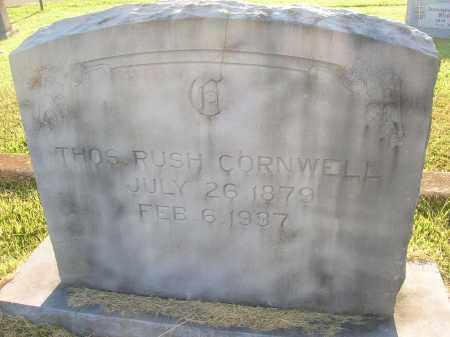 CORNWELL, THOMAS RUSH - Yell County, Arkansas   THOMAS RUSH CORNWELL - Arkansas Gravestone Photos