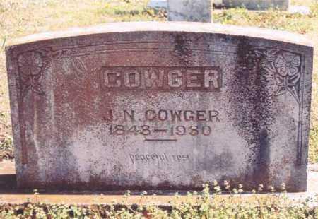 COWGER, JASPER NEWTON - Yell County, Arkansas | JASPER NEWTON COWGER - Arkansas Gravestone Photos