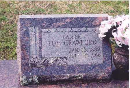 CRAWFORD, TOM - Yell County, Arkansas | TOM CRAWFORD - Arkansas Gravestone Photos