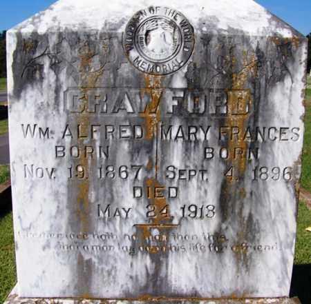 CRAWFORD, MARY FRANCES - Yell County, Arkansas | MARY FRANCES CRAWFORD - Arkansas Gravestone Photos