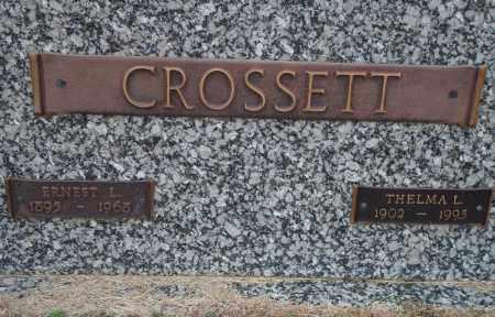 CROSSETT, THELMA L. - Yell County, Arkansas | THELMA L. CROSSETT - Arkansas Gravestone Photos