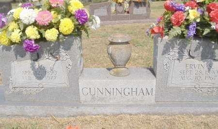 CUNNINGHAM, ERVIN S - Yell County, Arkansas | ERVIN S CUNNINGHAM - Arkansas Gravestone Photos