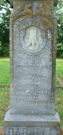 DARNELL, JOHN W - Yell County, Arkansas | JOHN W DARNELL - Arkansas Gravestone Photos