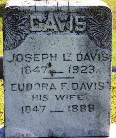 DAVIS (VETERAN CSA), JOSEPH L - Yell County, Arkansas   JOSEPH L DAVIS (VETERAN CSA) - Arkansas Gravestone Photos