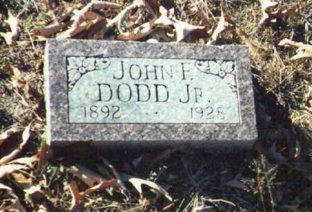 DODD, JR., JOHN - Yell County, Arkansas | JOHN DODD, JR. - Arkansas Gravestone Photos