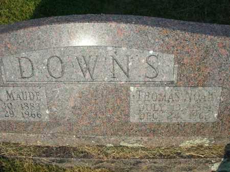 DOWNS, LILLIE MAUDE - Yell County, Arkansas   LILLIE MAUDE DOWNS - Arkansas Gravestone Photos